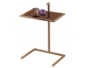 moebel direkt online Beistelltisch _ Glastisch _ In 3 Farben lieferbar _ Metalltisch _ Tisch