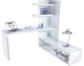 Schreibtisch mit Eckregal
