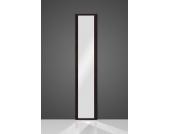 Ganzkörperspiegel in schwarz 40 cm breit
