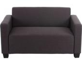 heute-wohnen 2er Sofa Couch Lyon Loungesofa Textil