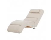 Relaxliege Califfo - Microfaser Beige, roomscape