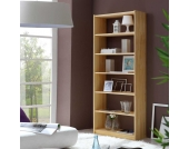 Bücherregal aus Fichte Massivholz 200 cm hoch