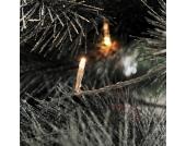 EEK A+, Micro LED Lichterkette - 200 Weiße Dioden - Außen - transparentes Kabel, Konstsmide