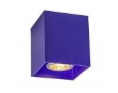 Deckenstrahler Qubo 1 violett