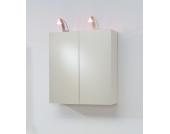 Spiegelschrank mit Beleuchtung 2 türig