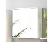 Bad Spiegelschrank in Weiß 3 Türen