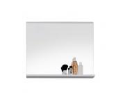 Badezimmerspiegel mit weißer Ablage 60 cm breit