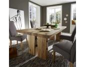 Massivholztisch aus Eiche Massivholz 220 cm breit