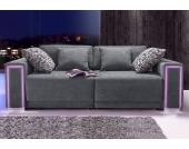 Big-Sofa, Größe L - XXL, inklusive LED-RGB Beleuchtung