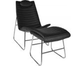 ergonomischer Relax-Sessel PRIMUS mit Fußhocker, 5 cm dicke Polsterung (aus bis zu 3 Farben wählen)