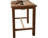 Bartisch - Tisch aus Teakholz Massivholz