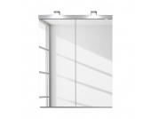 EEK A+, Spiegelschrank Storm Light - Weiß - ohne Beleuchtung, California