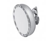 Aufsatzspiegel Lilly - Chrom, LED-Beleuchtung, 8-fache Vergrößerung, Sanwood