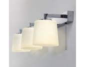 EEK A++, Kosmetikspiegel Triplex - Bronze - 3-flammig, Illumina