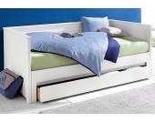 Schlafwelt Funktionsbett, weiß, weiß, FSC®