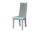 Hochlehner Tubianas - Eiche Grau/Weiß - Holzwerkstoff/Kunstleder, Violata Furniture
