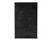 Shaggy Teppich Euphoria - Anthrazit - 80 x 160 cm, Testil
