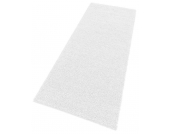 my home Hochflor-Läufer »Spa«, weiß, 67x230 cm