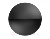 Wandeinbauleuchte Giano mit LED, schwarz