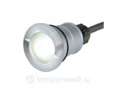 LED-Bodeneinbauleuchte TRAIL-LITE ROUND weiß