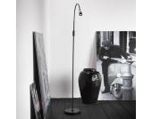 Verstellbare LED-Stehleuchte Mento, schwarz