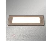 LED-Wandeinbauleuchte Holly für außen