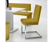 Küchenstuhl in Gelb modern (4er Set)