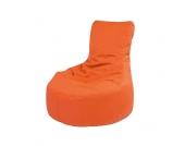 Outdoor Sitzsack mit Rückenlehne Orange