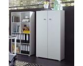 Büroschrank in Weiß 70 cm breit