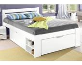 Home Affaire Home affaire Stauraumbett »Hansa« »Hansa«, weiß, Liegefläche 140/200 cm, FSC®
