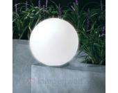 Solarleuchte KUGEL 30 mit Glaseffekt