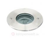 Solider LED Bodeneinbaustrahler I rund