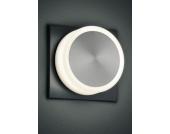 TRIO LEUCHTEN LED-Steckerleuchte, grau, rund