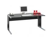 Computer-Schreibtisch in Schwarz