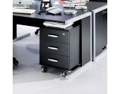 Schreibtisch Rollcontainer abschließbar