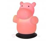 Nachtlicht LED Tischleuchte Hippo