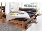 Schlafwelt Futonbett, braun, 90/200 cm