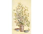 Bild Streaky vases 3 - Digital-Fine-Art-Druck auf Leinen - 70 x 40 cm, Artland