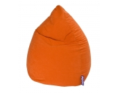 Sitzsack Easy XXL - Microfaser - Orange, SITTING POINT