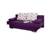 Schlafsofa Rijeka - Microfaser Lila, Home Design
