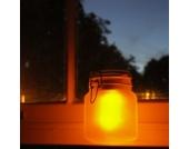 Solarleuchte im Glas Sun Jar