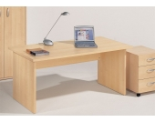 Computertisch in Ahorn Dekor